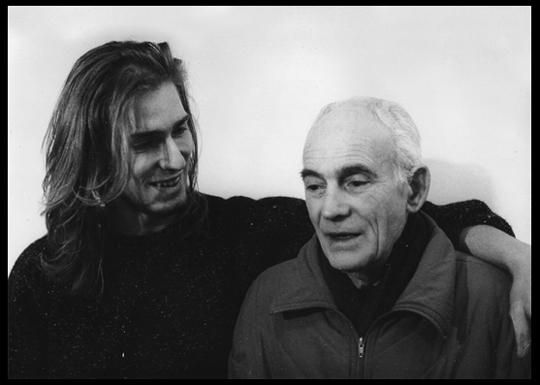 Io e il dottor Tonon in una foto del '94