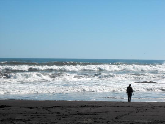 L'oceano, il pacifico.
