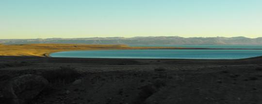 Il lago Argentino.