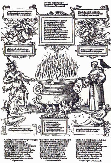 Lutero e il diavolo sobillano i popoli contro Roma, 1520.