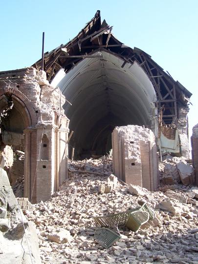 Quel che resta della chiesa di S.Francisco.