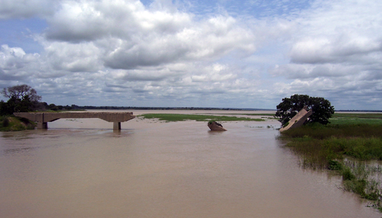 Ponte tra Tchad e Cameroun.
