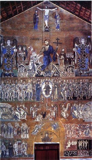 Giudizio universale meraviglioso, il più bello che abbia mai visto. S. maria Assunta, isola di Torcello.
