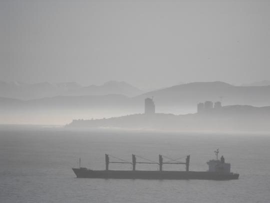 Come vediamo il porto dalla nostra camera.